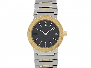Bulgari Bulgari Mid-Size Watch in 18K and Steel