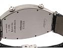 Cartier Dual-Time Tonneau Diamond Watch in 18K