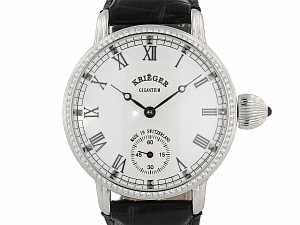 Kriëger Gigantium Diamond Watch in Stainless Steel