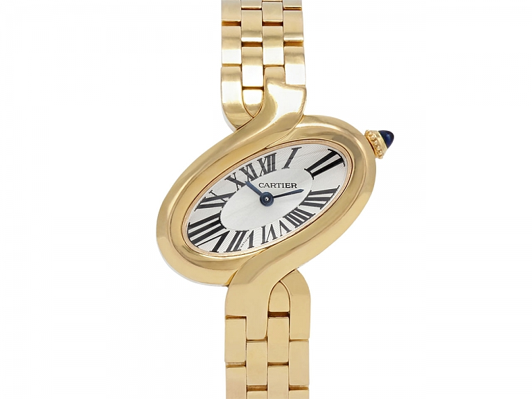 Video of Cartier 'Delice' in 18K Rose Gold, Small Model