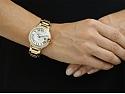 Cartier 'Ballon Bleu' Diamond Watch in 18K Gold, 36 mm