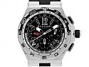 Bulgari 'Diagono' X Pro GMT Chronograph Watch in Steel