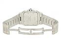 Cartier 'Santos de Cartier Galbée' Watch in Steel and Gold, Large
