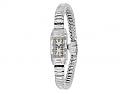 Art Deco Diamond Watch in Platinum