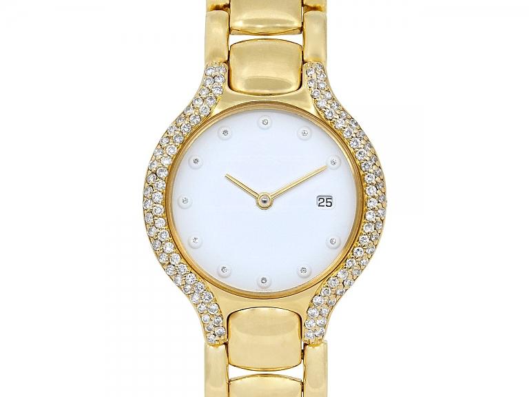 Video of Ebel 'Beluga' Diamond Watch in 18K Gold, 31 mm