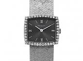 Patek Philippe Lady's Diamond Watch in 18K White Gold