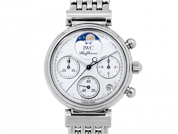 IWC Da Vinci Chronograph in Stainless Steel