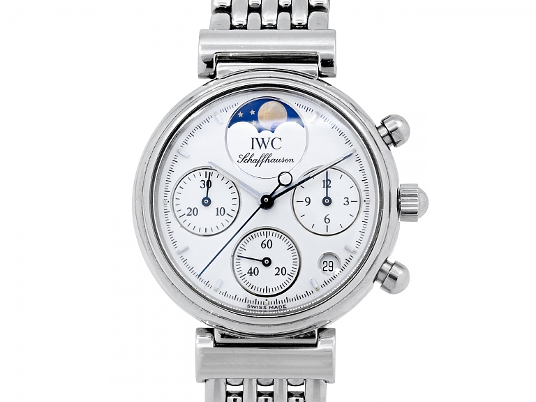 Video of IWC Da Vinci Chronograph in Stainless Steel