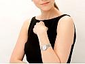 Ladies Rolex President Watch, 26 mm, with Custom Diamond Bezel, in Platinum