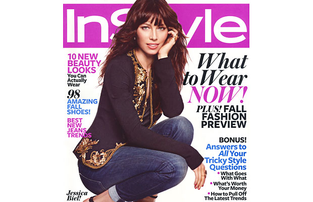 InStyle Magazine — August 2012