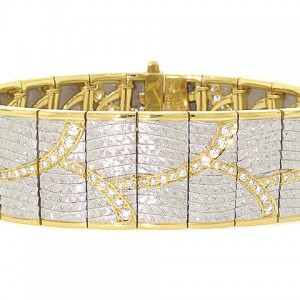Michael Bondanza Diamond Bracelet