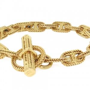 Hermes Chaine D'Ancre Bracelet in 18K