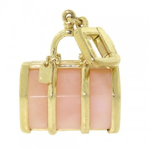 Louis Vuitton Pink Opal Keepall Charm