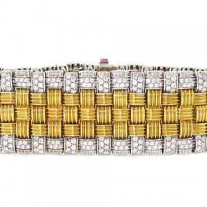 Roberto Coin Appassionata Weave Bracelet