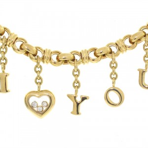 Chopard I Love You Happy Diamond Bracelet in 18K