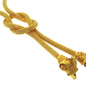 Lalaounis Knot of Hercules Necklace