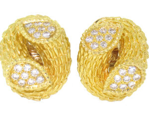 Boucheron Diamond Earrings