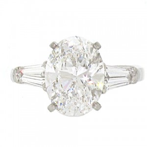Van Cleef and Arpels Diamond Engagement Ring