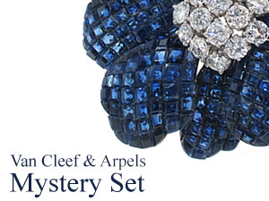 "Van Cleef and Arpels ""Serti Mysterieux"" — The Mystery Setting Unveiled!"