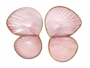 Marguerite Stix Shell Earrings