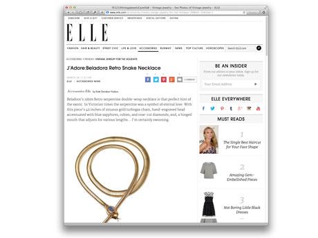 Elle Magazine Online