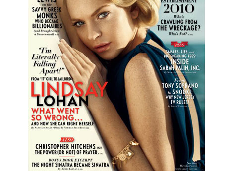 Vanity Fair Magazine — October 2010