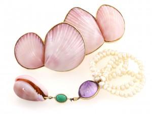 Marguerite Stix Shell Jewelry