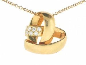 Van Cleef and Arpels Diamond Heart Pendant