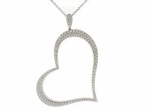 Piaget Large Diamond Heart Pendant