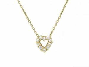 Roberto Coin Diamond Heart Pendant