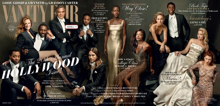 Vanity Fair —The Hollywood Issue