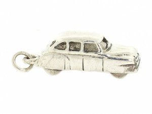 Vintage Car Charm in Sterling Silver