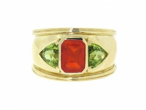 Theo Fennell Fire Opal Ring