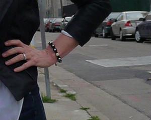 Lisa in Pearl Bracelet