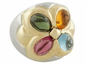 Bvlgari Gemstone Ring