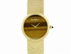 Vintage Bueche Girod Tiger's Eye Watch