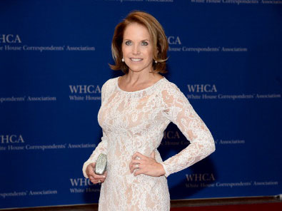 Katie Couric at the 2014 White House Correspondents' Dinner
