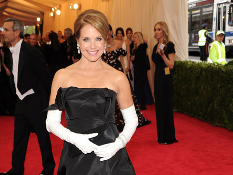 Katie Couric at the 2014 Met Gala