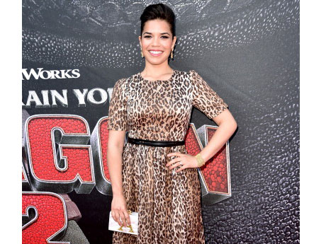 "America Ferrera at the ""How to Train Your Dragon 2"" Premiere"