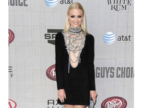 "Jaime King at the Spike TV ""2014 Guys Choice Awards"""