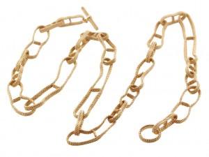 Hermes Chain D'Ancre Long Necklace