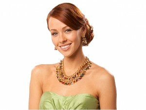 Laura Munder Multi-Gemstone Briolette Necklace and Earrings