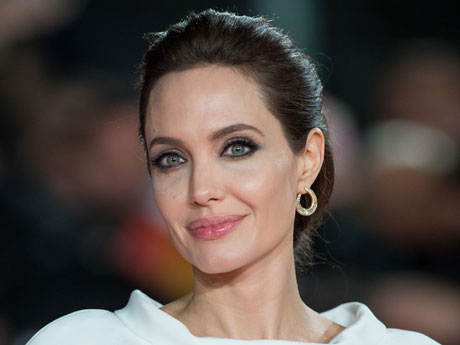 "Angelina Jolie at the ""Unbroken"" Premiere in London"