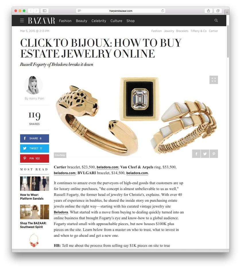Harper's Bazaar Online