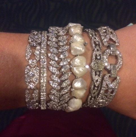 Trend Report: Stacked & Styled. An Armful of Bracelets Make a Statement.