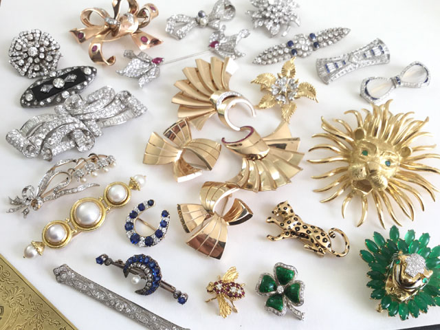 Modern Heirloom: Brooches are Back and Making a Chic Statement This Fall