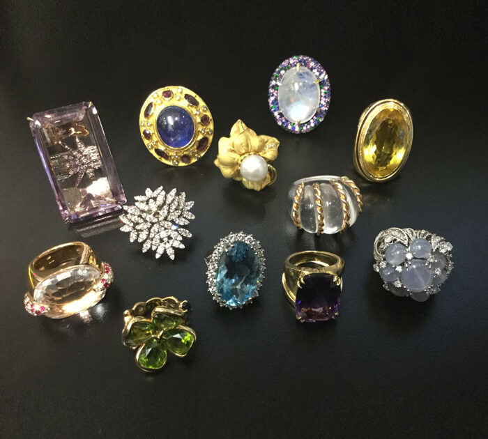 Holiday Sparkle: The Statement Making Style of Cocktail Rings