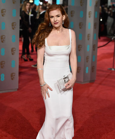 Isla Fisher at the BAFTAs