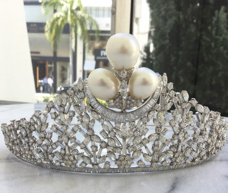 Crowning Jewels: Tiaras